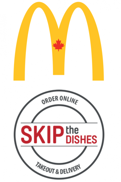 McDonalds and SkipTheDishes