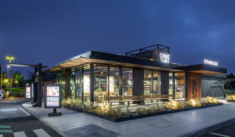 Starbucks sustainable store
