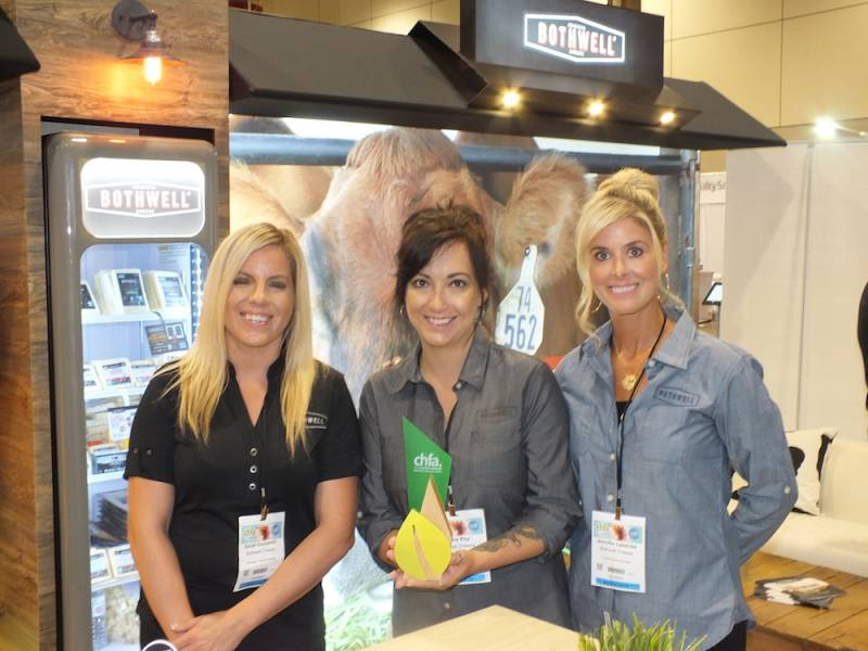 Sarah Ceccarelli, Lynne Roy and Jennifer Lasenba, Bothwell Cheese