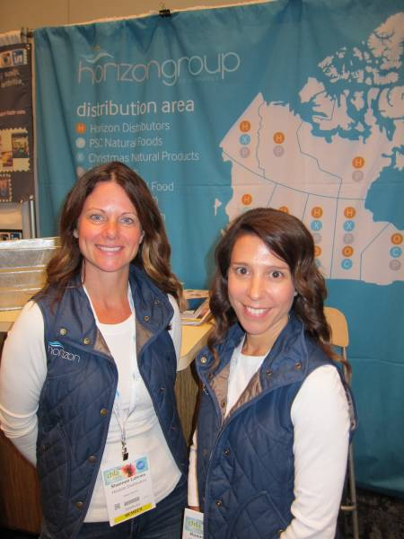 Shannen Lohnes and Rosanna Biglow, Horizon Distributors