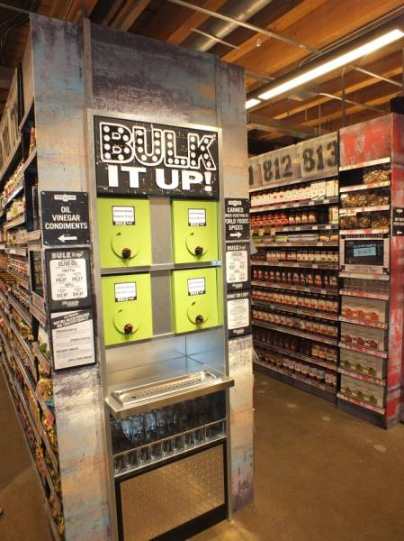 Expanded bulk offerings reflect the growing movement of zero waste initiatives among grocery retailers