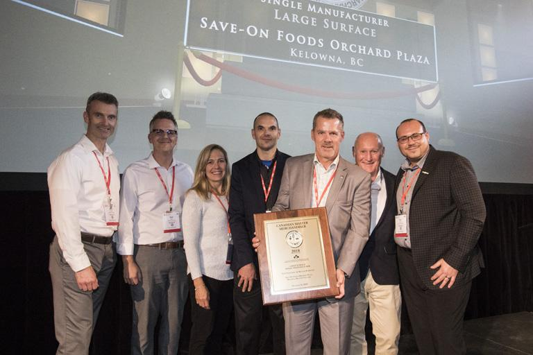 Master Merchandising Award - Single Manufacturer Large Surface - Save-On-Foods, Orchard Plaza