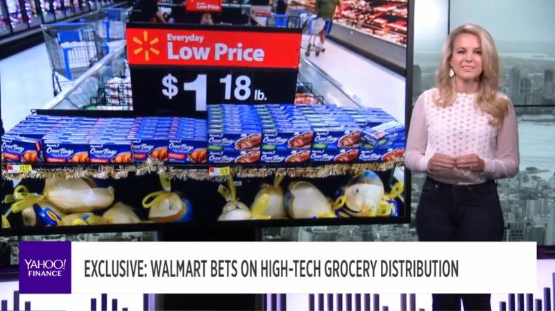 Walmart bets on high tech distribution