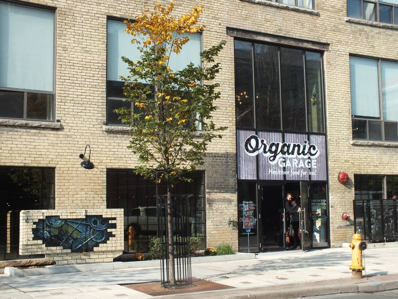 Organic Garage Liberty Village store
