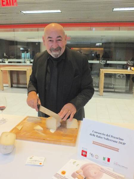 Giovanni Cannas, director, Consortium for the protection of Pecorino cheese from Balze