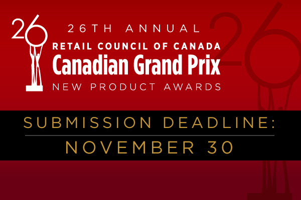 Grand Prix New Product Awards call out