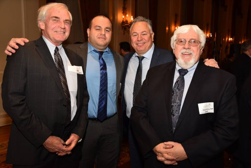 Hal Campbell, Kasra Rad, Mike Hagan, Don Williams, all with Wm. M. Dunne