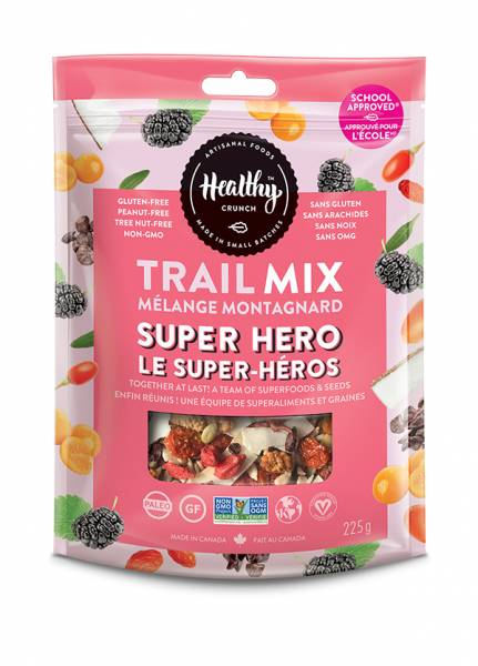 Healthy Crunch 225g Super Hero Trail Mix