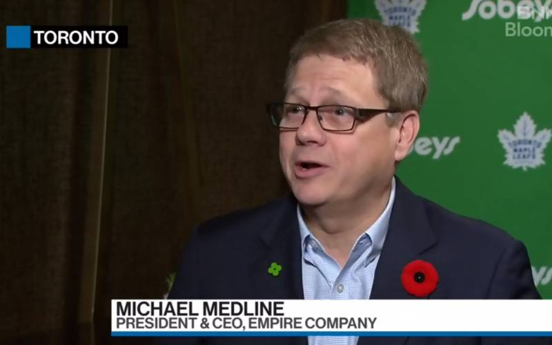 Michael Medline on Farm Boy purchase