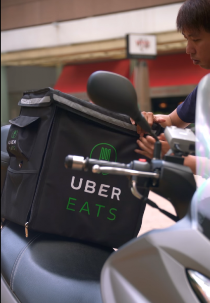 Uber Eats delivery service