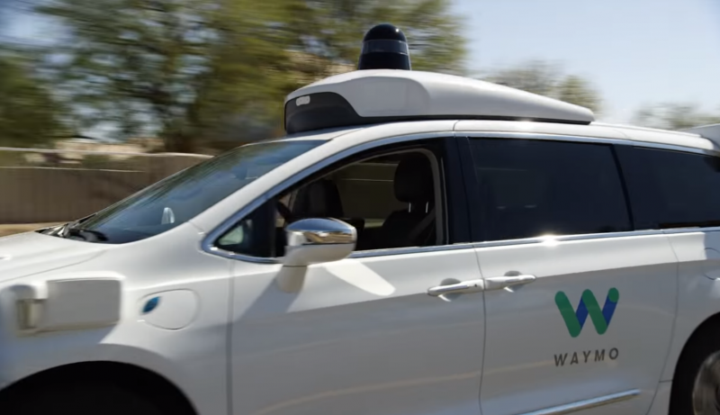 Waymo autonomous vehicle