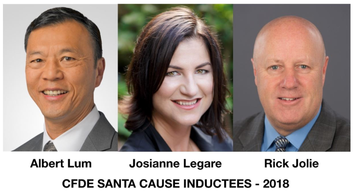 CFDE Santa Cause inductees 2018