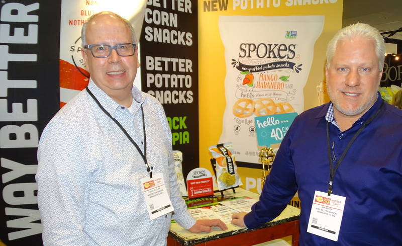 Dave Pullarleft (left) and Jim Breen of Way Better Brands