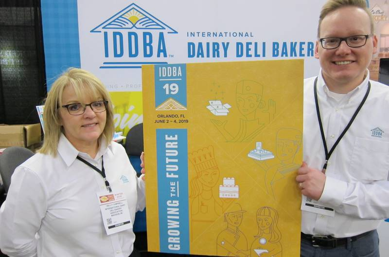 Kelly Campbell and Jonathan Whalley, IDDBA