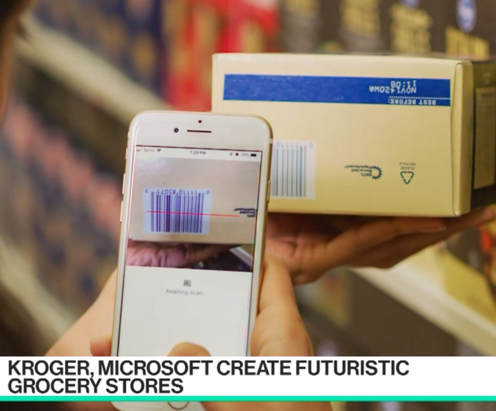 Kroger and MS team up on futuristic grocery store