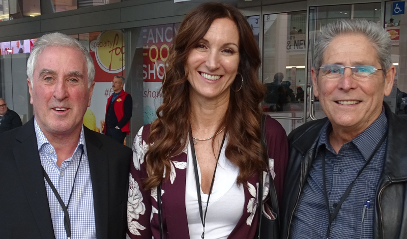 Left to right: Nick Walpole of Nick Walpole Agency, Leeola Zanetti of Tree of Life and Gary Hoskins of Terra International