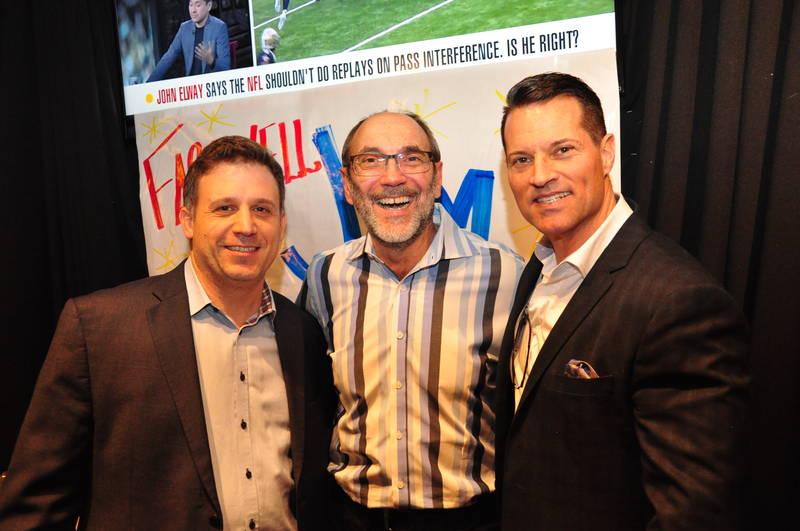 Mike Pilato, Jamieson Wellness, Jim Slomka and Brent Falvo, Clorox Canada