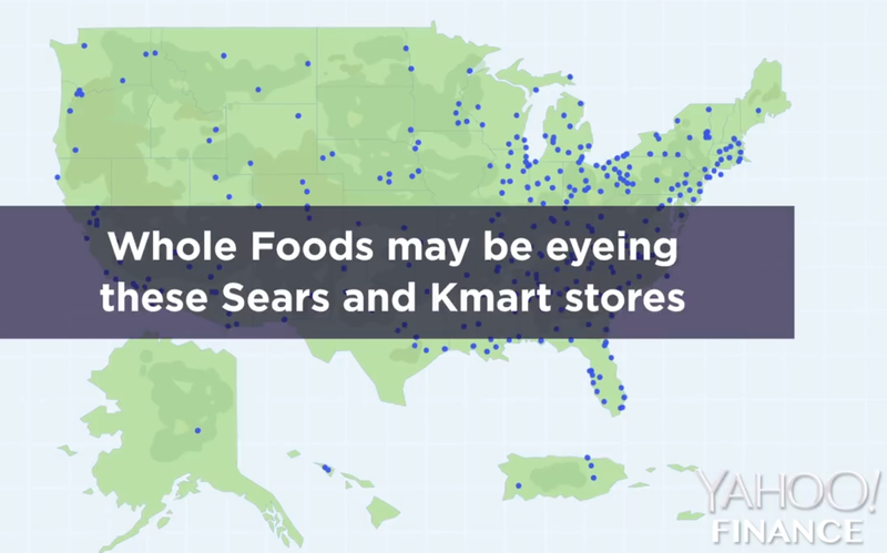 Whole Foods eying Sears and Kmart locations