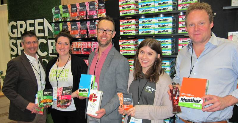 Chris Renner, Sophia Rouleau, Shawn McNaughton, Malena Harman and Matt Von Teichman, GreenSpace Brands