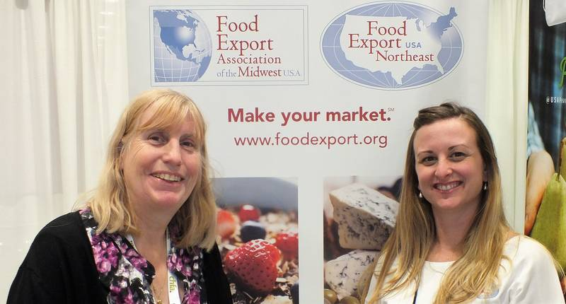 Kathy Boyce, Boyce Strategic Marketing and Lauren Masseria, Food Export USA