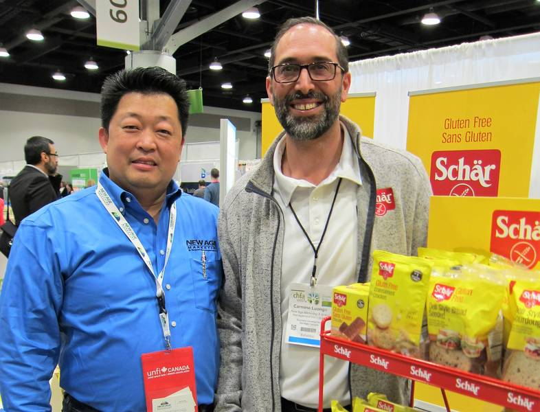 Ken Kwong, New Age Marketing and Carmine Luongo, Dr. Schar