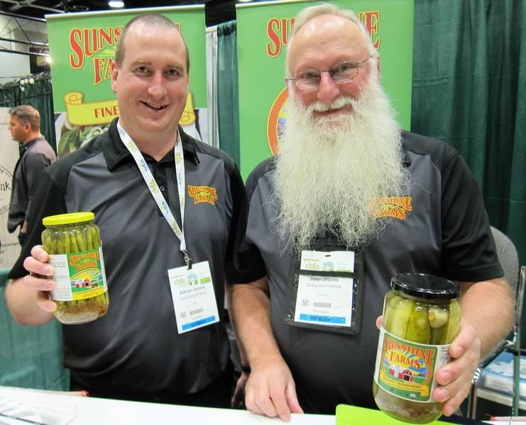 Sunshine Farms' Adrian and John Jaques