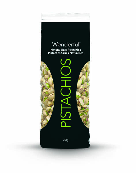 450g Wonderful Natural Raw Pistachios