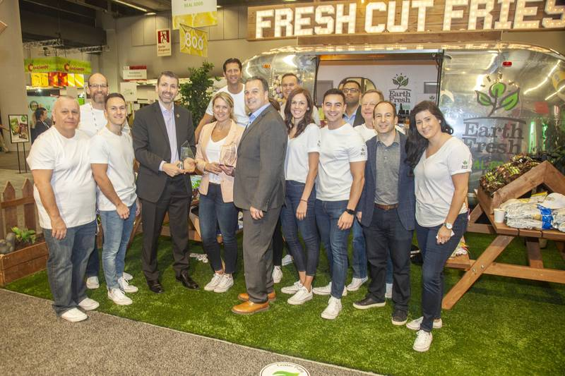 Best Island Booth Award, Earth Fresh. The company also won the Fresh Health Award