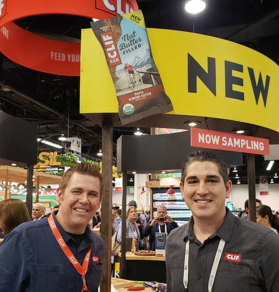 Brian Braden (l) and Jeff Ambrosio from Clif Bar