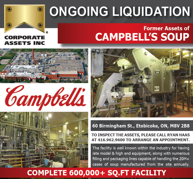 Campbell liquidation notice