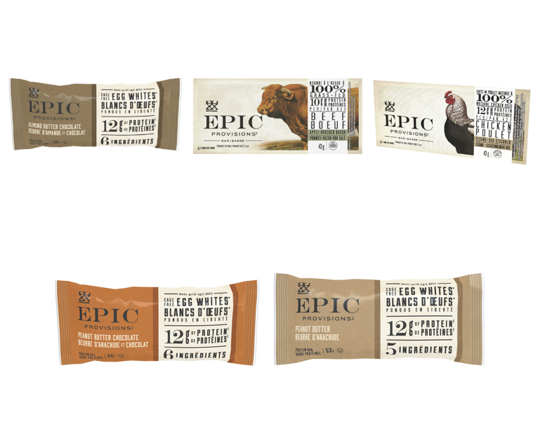 Best Health and Wellness: Epic Provisions (General Mills) Egg Protein and Meat Protein Bars