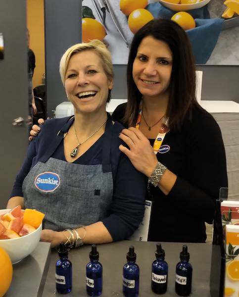 Jill Davie and Julie DeWolf, Sunkist Growers