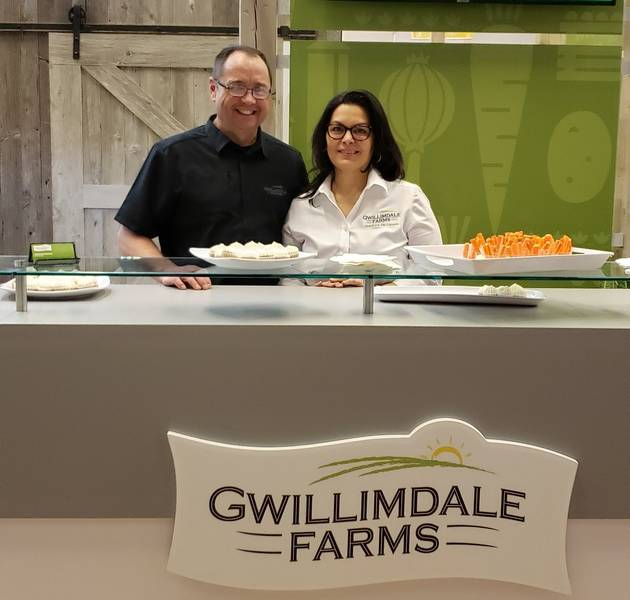 John and Cristina Hambly, Gwillimdale Farms