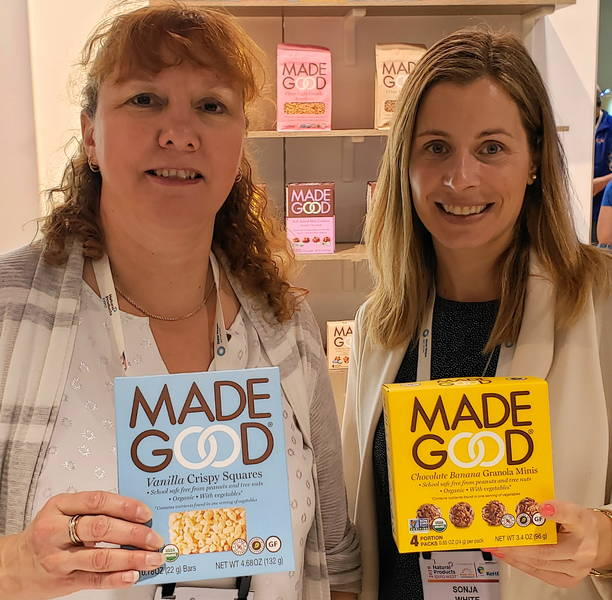 Leanne Sears (l) and Sonja White, MadeGood Foods