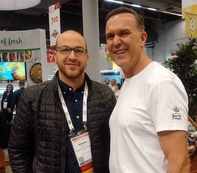 Mimmo Franzone, Longo Bros.; Tom Hughes, Earth Fresh Foods