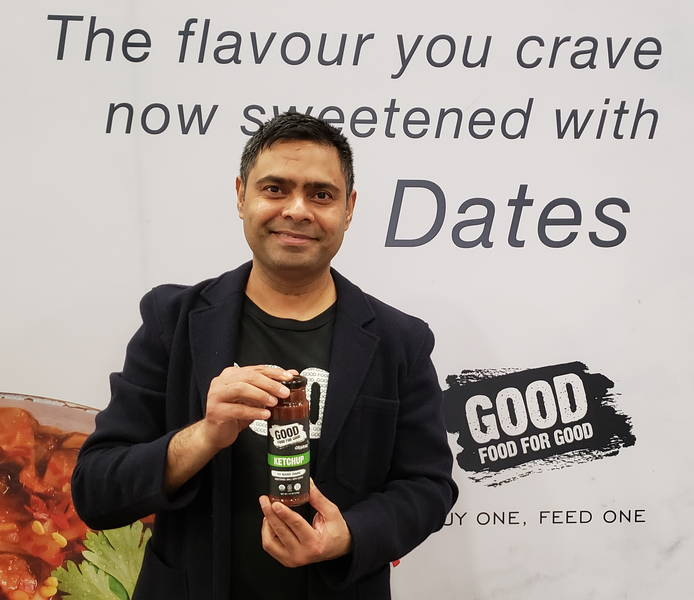 Prashant Dube of Good Food For Good