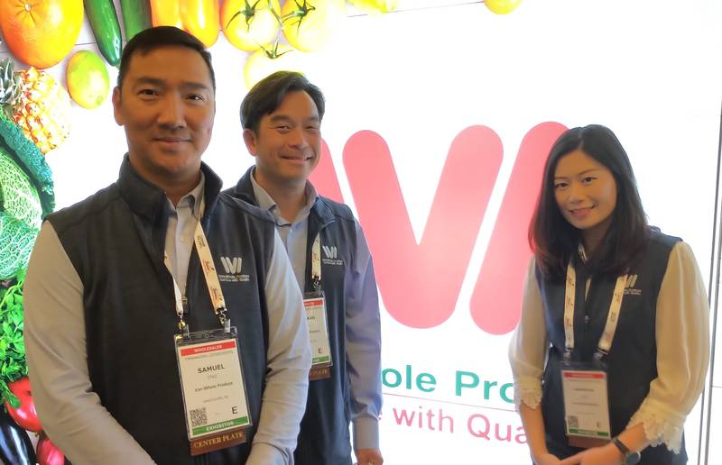 Samuel Chui, Leonard Jang and Samantha Chan, Van-Whole Produce