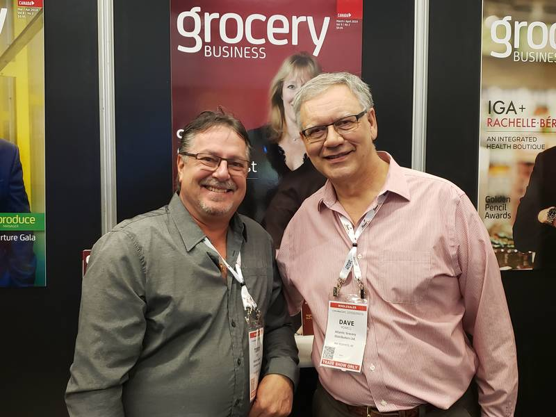 Terry Dyke and Dave Powell, Atlantic Grocery Distributors and Powell's Supermarket