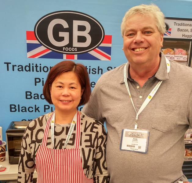 Vicky and Andy Bradshaw, Sherlock Imports & GB Foods