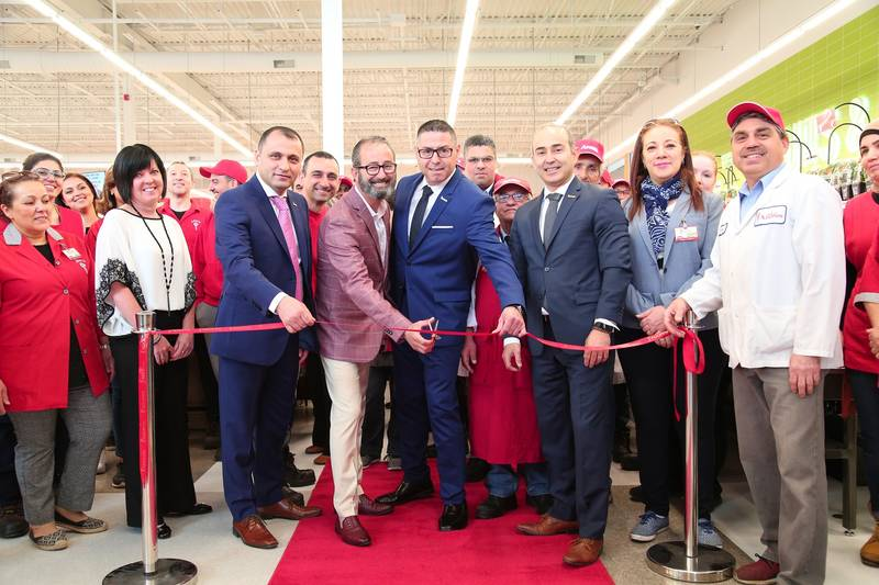 Ribbon-cutting at the new Dollard-des-Ormeaux Adonis store