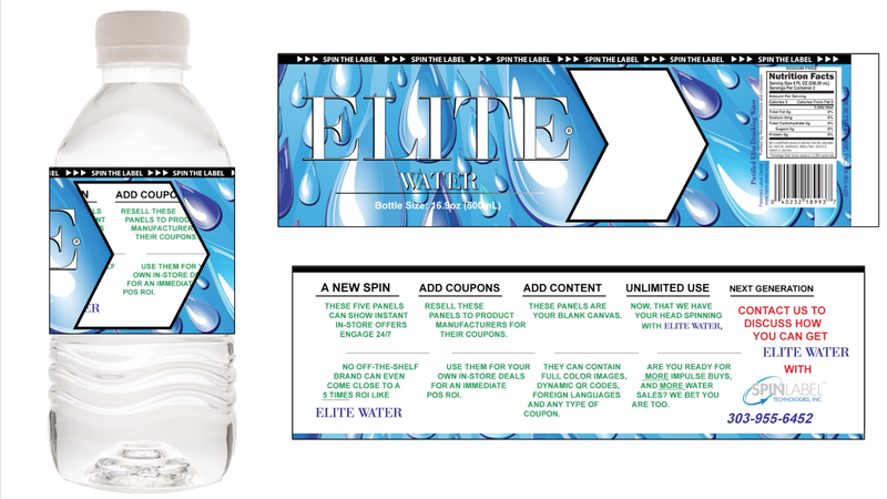 Elite Water with Spinlabels