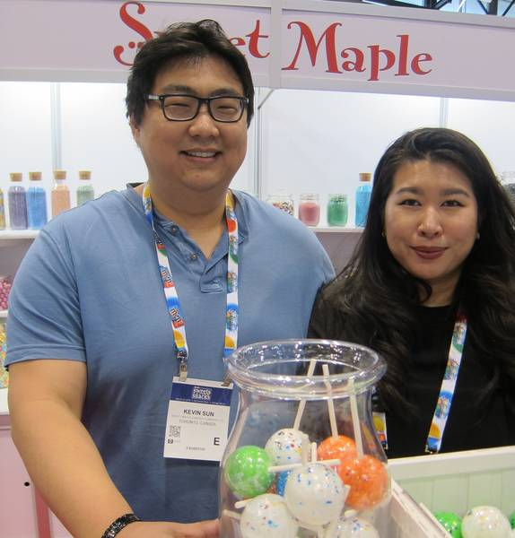 Kevin Sun and Kim Luong, Sweet Maple Candies Co. Ltd.