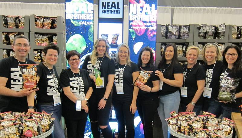 Neal Bros. team at their award-winning booth