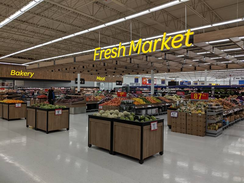 A new look - and name - for the produce section. Photo Walmart Canada