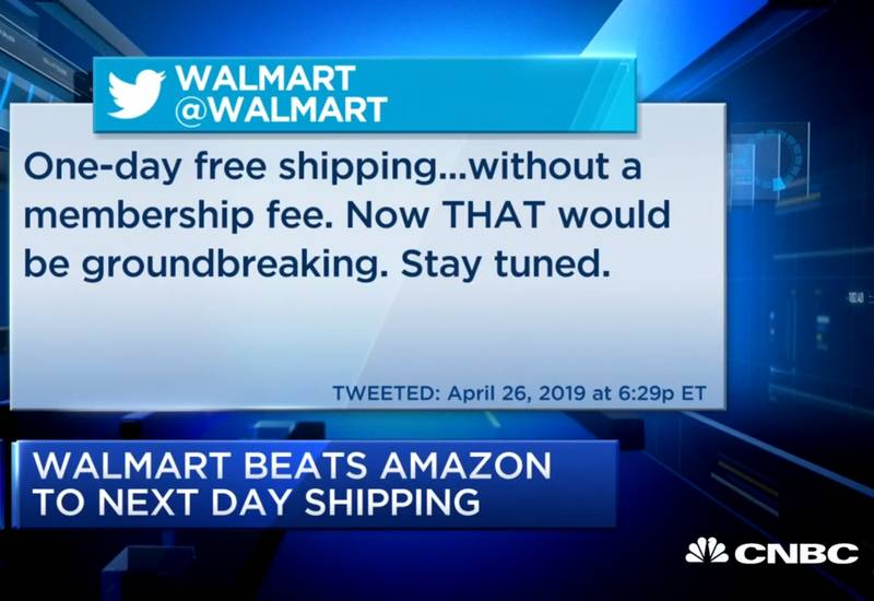 Walmart launches free next day shipping