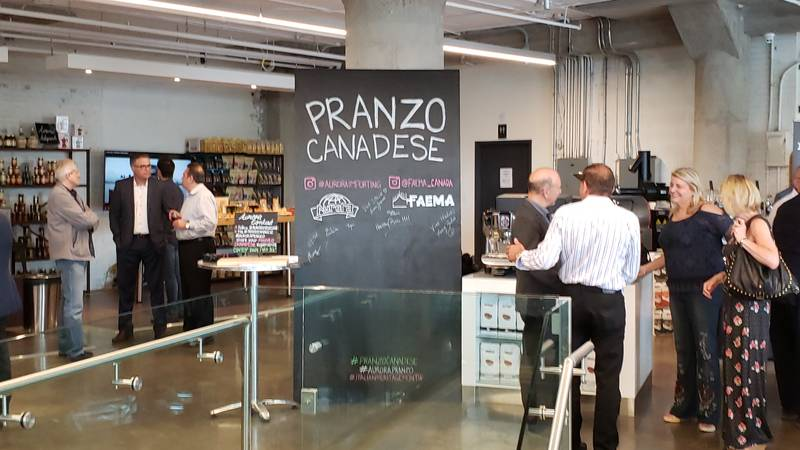 Pranzo Canadese took place at Faema Canada in Toronto