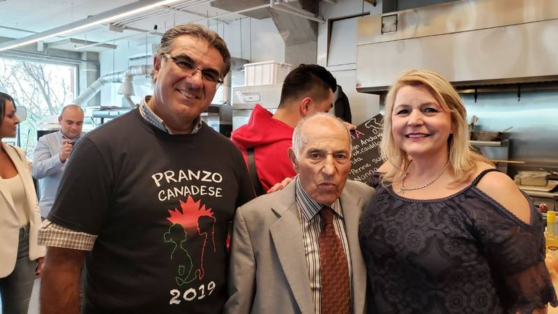 Antonio Morello, Aurora Importing & Distributing, Aurora founder Nunzio Tumino and Mary Dalimonte