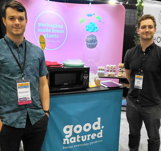 Daniel Lewis (l) and Andy Phillips of Good Natured Products