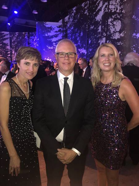 Kelly Jessop and Pat Dean, Shoppers Drug Mart and Sarah Davis, Loblaw Companies