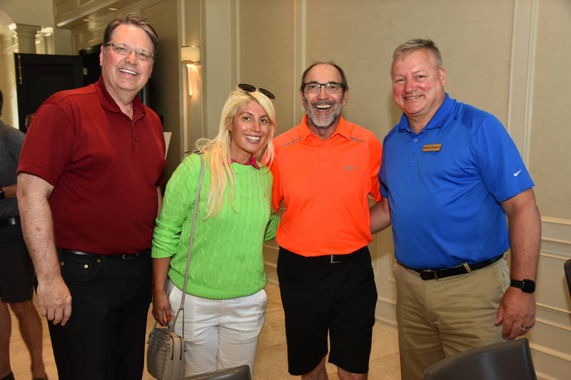 Larry Bonikowsky, Grocery Business Magazine, Julie Bednarski, The Healthy Crunch Company, Jim Slomka, Grocery Business Magazine and Denis Gendron, UGI